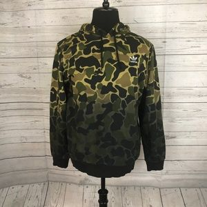NEW Adidas Camouflage Hoodie Mens Sz Medium